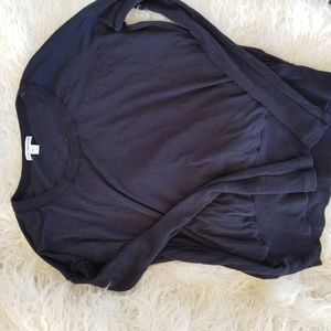 James perse size 1 navy long sleeve